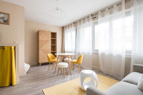 Appartement Lyon Gerland - Salon