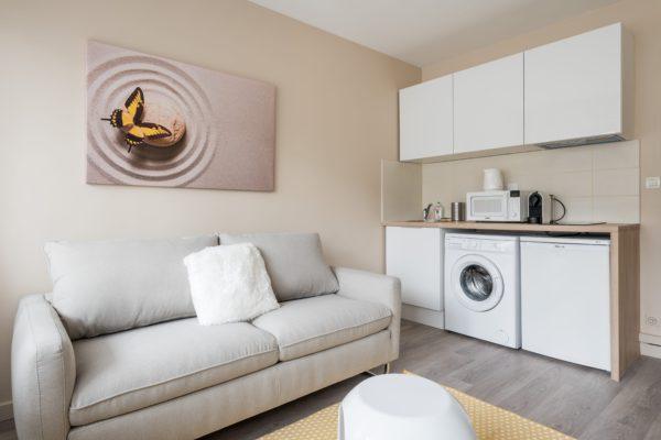 Appartement Lyon Gerland - Coin cuisine
