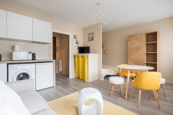 Vue globale de l'appartement Lyon Villeurbanne
