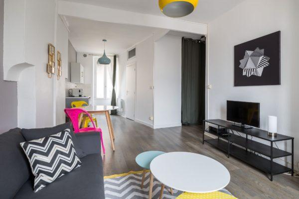 Vue d'ensemble de l'appartement Lyon Villeurbanne